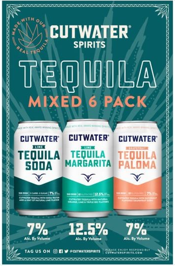 Cutwater Tequila Variety