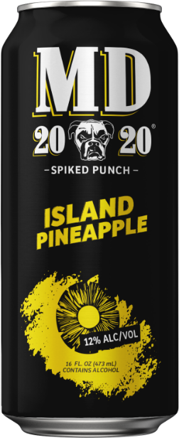 MD 20/20 Island Pineapple 16 OZ CANS