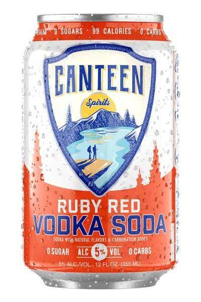 Canteen Ruby Red Vodka Soda 4/6 CAN